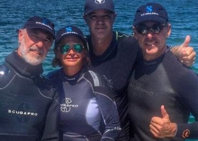 Wyland Diving with Celebration of the Sea Foundation Staff